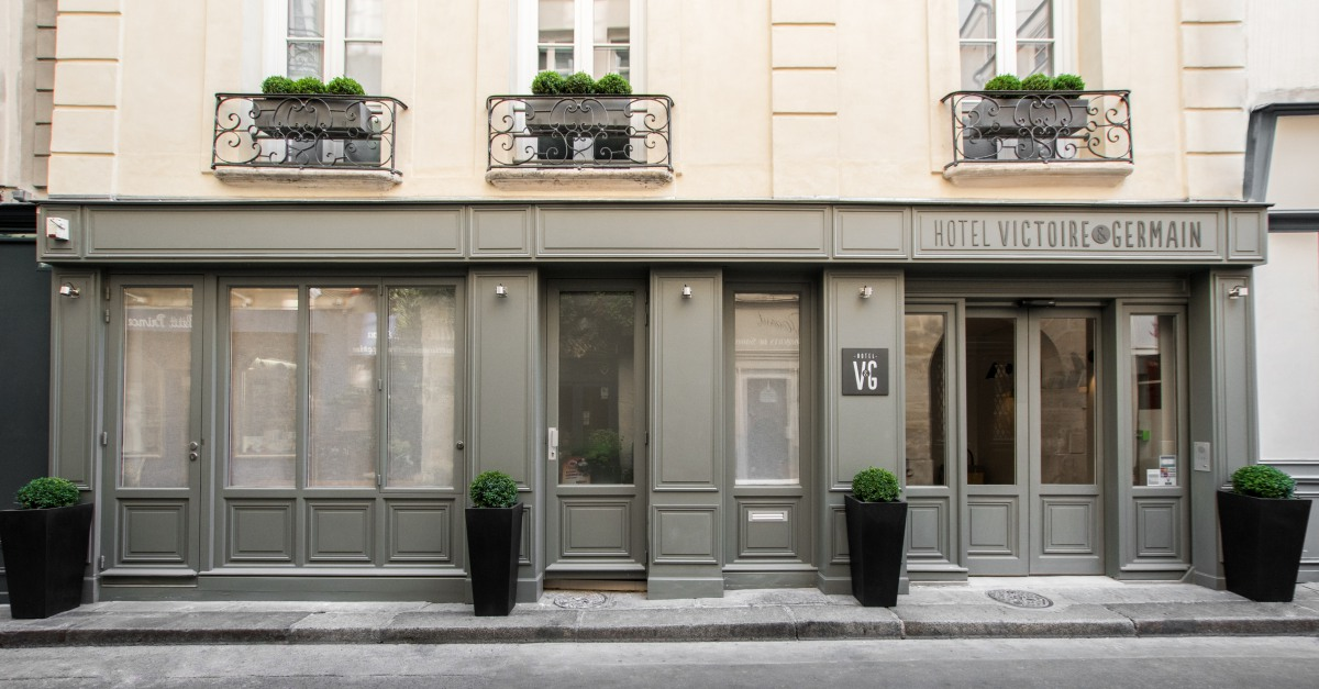 Hotel Victoire & Germain I Official Site l Paris 6th